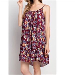 Dresses & Skirts - Floral🎀Tank Dress